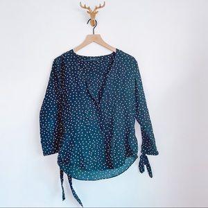 Madewell Star Silk Blouse